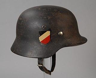 <i>Stahlhelm</i> German steel helmet for soldiers
