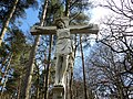 Dumfries House, Marquess of Bute Memorial, crucifixion detail, 1900, East Ayrshire.jpg