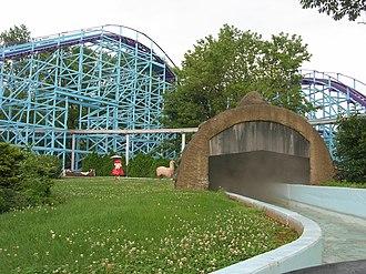 Kingdom Coaster - Image: Dutch Wonderland Sky Princess Flume