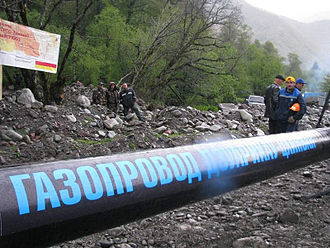 South Ossetia - The Dzuarikau–Tskhinvali pipeline, delivering natural gas from Russia to South Ossetia, went online in 2009.