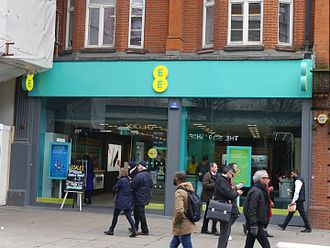 EE Limited - An EE store in Oxford Street, London, 2016