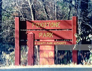 Robert Hanssen - Foxstone Park where Hanssen was arrested
