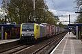 ERS Railways 189 203 + Poznan-shuttle, Hilversum Mediapark (16633441454).jpg