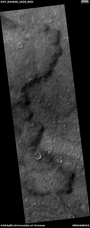 Solis Planum - Image: ESP 044840 1620lavaflow