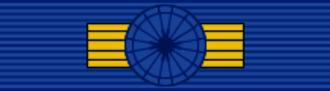 Kersti Kaljulaid - Image: EST Order of the National Coat of Arms 1st Class BAR