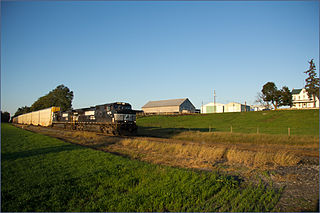 Lurgan Branch Norfolk Southern rail line in Pennsylvania and Maryland