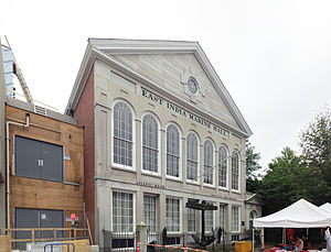 Timeline of Salem, Massachusetts - East India Marine Hall in 2013, now part of the Peabody Essex Museum