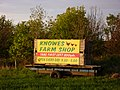 East Lothian Landscape , Trailer Sign for Knowes Farm Shop - geograph.org.uk - 1870738.jpg