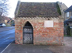 Eaton Socon Cage, School Lane, Eaton Socon, Hunts - Cambs - geograph.org.uk - 319930.jpg