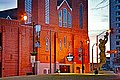 Ebenezer Baptist Church at sunset.jpg