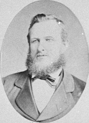 Ebenezer Hamlin - Ebenezer Hamlin in 1882