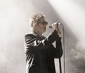 Echo & the Bunnymen - Ian McCulloch at the Festival Internacional de Benicàssim 2016