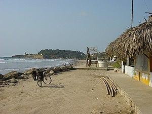 Ecuador Montanita beach