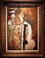 Edgar degas, ragazza seduta e appoggiata, o schienale di poltrona, 1827, 01.jpg