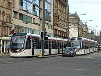 Edinburgh trams, driver training 1.JPG