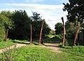 Edmonton, Boundary Ditch sculptural arches - geograph.org.uk - 2116089.jpg