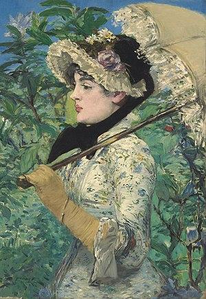 Spring (Édouard Manet painting) - Image: Edouard Manet 023
