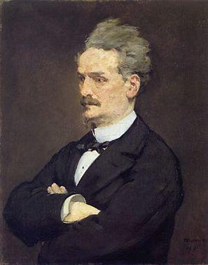Victor Henri Rochefort, Marquis de Rochefort-Luçay - Édouard Manet: Henri Rochefort (1881)