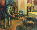 EdvardMunch-1925-26-Self-Portrait with Dogs.png