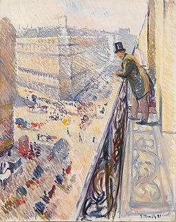 Edvard Munch - Rue Lafayette (1891)
