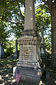 Edwin M Stanon grave detail - Reno Hill section - Oak Hill Cemetery - 2013-09-04.jpg