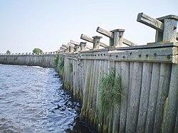 Eemdijk Spakenburg palendijk Eem.JPG