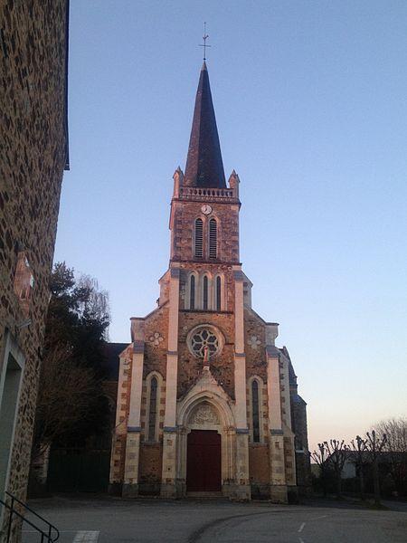 Mayenne, France. Architecte: abbé Dion.