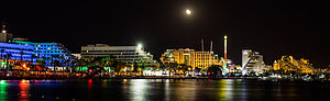 Eilat Coastline At Night.jpg