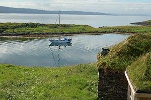 MacCormaig Isles - Image: Eilean Mor Anchorage