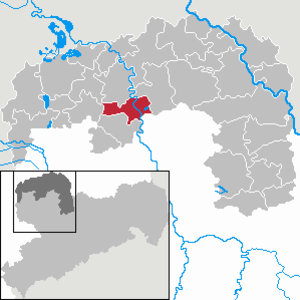 Eilenburg - Image: Eilenburg in TDO