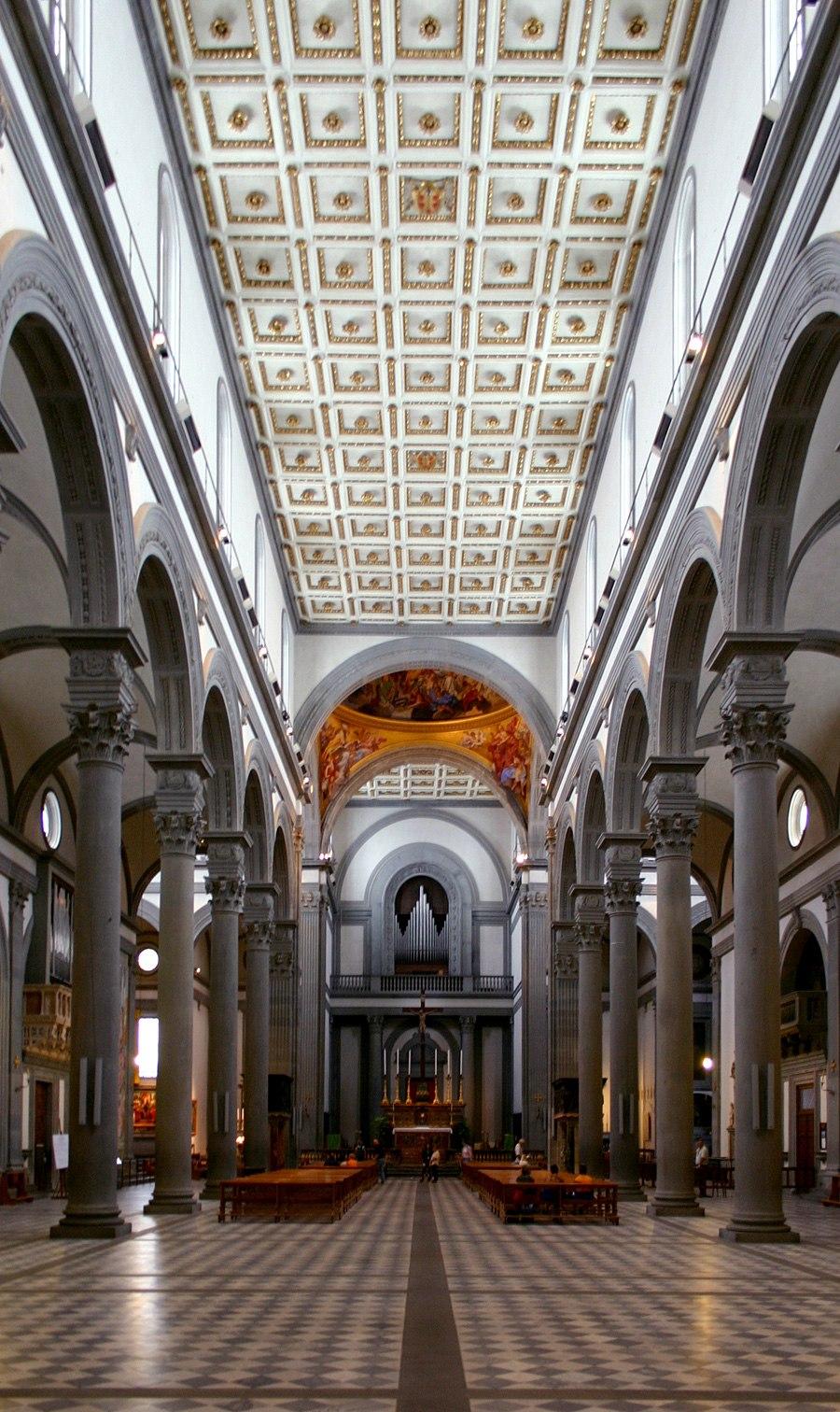 Einblick LH2 San Lorenzo Florenz
