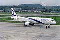 El Al Israel Airlines Boeing 757-258 4X-EBV (24996451605).jpg