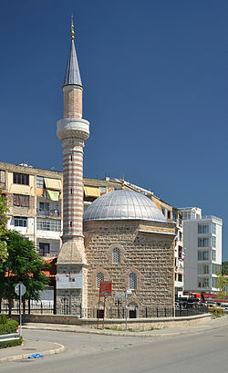 Elbasan - Naziresha Mosque (by Pudelek).JPG