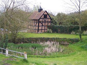 Eldersfield - Image: Eldersfield Village Pond