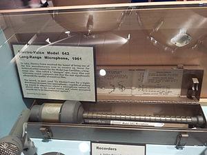 Electro-Voice - EV received a 1963 Academy Award for their 642 Cardiline shotgun microphone.