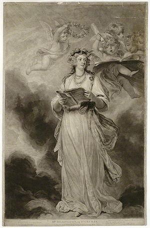 Elizabeth Billington - Elizabeth Billington, after Sir Joshua Reynolds