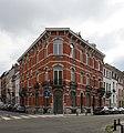 Elsene, Lanfraystraat 15 (midden) Hoek met de Alphonse de Wittestraat (rechts) (1898) (ID 19469).jpg
