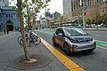 Embarcadero BMW i3 04 2015 SFO 2905.jpg