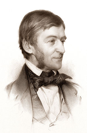 """ Waldo Emerson, head-and-shoulders portr..."