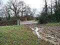 End of bridleway - geograph.org.uk - 1735203.jpg