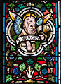 Enniskillen Cathedral of St. Macartin North Aisle Window Four Evangelists Detail Lion of Saint Mark 2012 09 17.jpg
