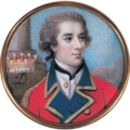 Ensign William Augustus West, Viscount Cantelupe, miniature ca. 1778.png