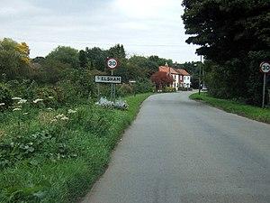 Elsham, North Lincolnshire - Image: Entering Elsham geograph.org.uk 61172