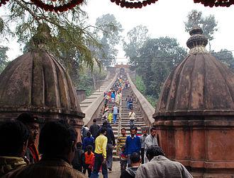 Hajo - Entrance of Hayagriva Madhab mandir