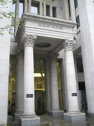 Phoenix Group - Phoenix Group's head office at Juxon House in London