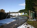 Entrance to sewage works, Snitterfield - geograph.org.uk - 1715663.jpg