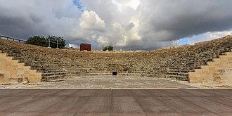 Limassol - Kourion Greco-Roman theatre.