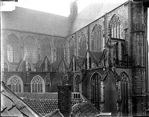 Hooglandse Kerk - Hooglandse Kerk around 1900 (picture by Jan Goedeljee)