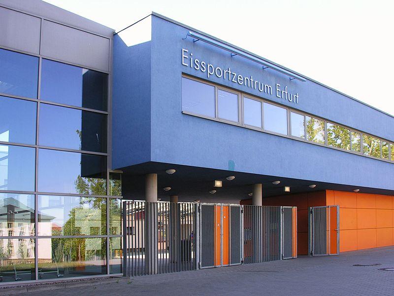 File:Erfurt Eissportzentrum Gunda-Niemann-Stirnemann-Halle Thüringen - Foto Wolfgang Pehlemann Steinberg Ostsee DSCN1555.jpg