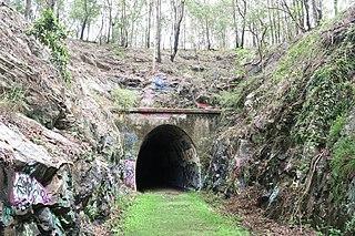 Ernest Junction railway tunnel